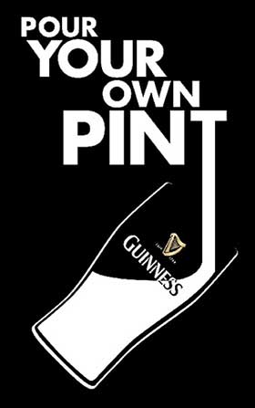 Euro 2016 PYOP Pour Your Own Pint Guinness Lyon France
