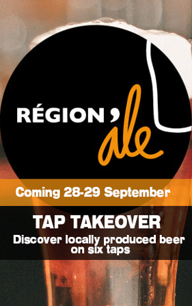 Regional ale tasting and event at the Wallace Bar Lyon